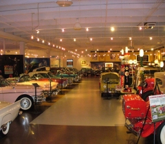Commercial Design and Installation Services For Auto Museum in Palm Beach County