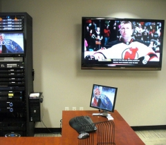 Panthers Video Suite Installation Service and Lighting Control System in Boca Raton