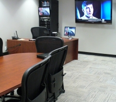 Panthers Conference Room With Quality Audio System Installation