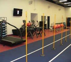 Panthers Gym Commercial Building Lighting System Installation in South Florida