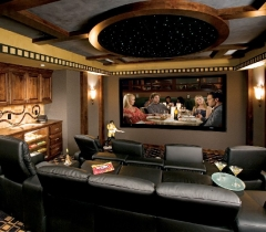 Media Room For Full Family Experience in Boca Raton
