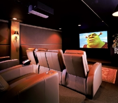Home Theater Systems With HDTV Surrounding Sound System