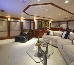 Yachts Media Room With Surround Sound System in Boca Raton, Palm Beach County and throughout South Florida