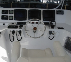 Front Section of A Yacht With Complete Installation of A Digital Surround System