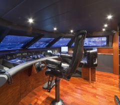 Front Section of A Yacht With Digital Surround System in Boca Raton, Palm Beach County and throughout South Florida