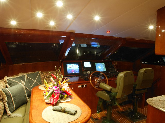 Complete sound systems for yachts