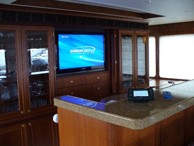 HDTV Surround system for your yacht in Boca Raon and Palm Beach