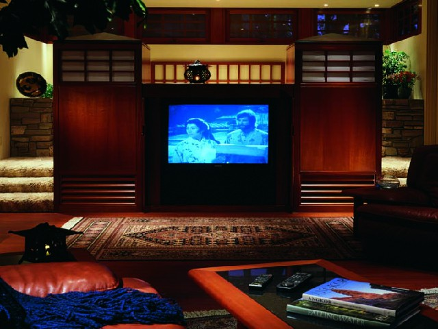 Home theater in the comfort of your own home