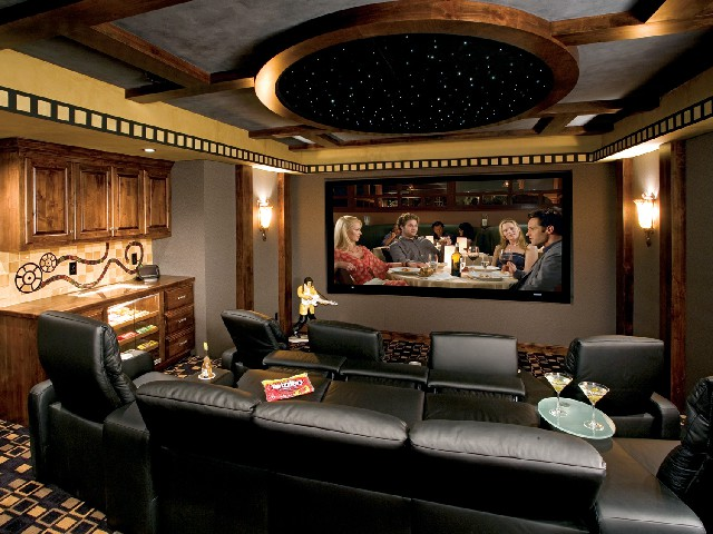 Media room Palm Beach Florida