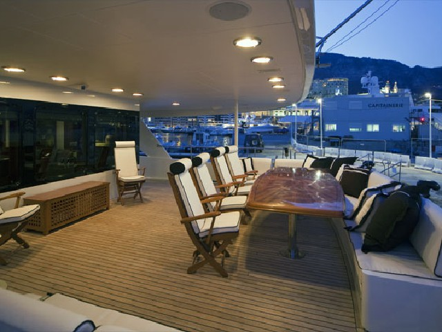 Yahct deck lighting and communication systems Boca Raton Palm Beach Florida