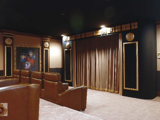 luxurious media room design Boca Raton