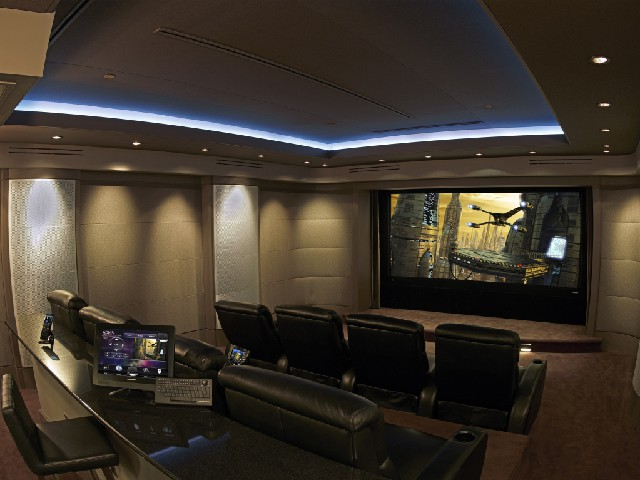 media rooms throughout Florida
